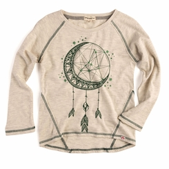 Appaman Adler Dream Catcher Tee in Cloud Heather