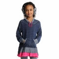 Appaman Girl Willow Ruffle Hoodie in Galaxy