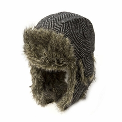 Appaman Knock Hat in Characoal Tweed - <b>Size M - 2-3Y left</B>