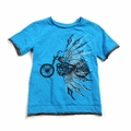 Appaman Nightrider Slub Tee in Reef Blue - <B>Last one size 2T</B>