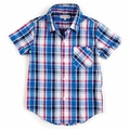Appaman Tilden Shirt in Pacific Blue - <b>Last one size 3T</b>