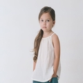 Go Gently Baby Organic Gauze Top In Natural