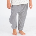Go Gently Baby Organic Harem Pant in Navy Stripe - <B>Size 7Y left</b>