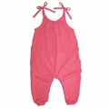 Go Gently Baby Organic Jersey Jumpsuit in Sherbert - <b>Sizes 3-6M & 6Y left</b>