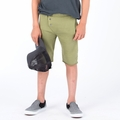 Go Gently Baby Organic Long John Short in Olive