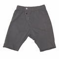 Go Gently Baby Organic Long John Short in Slate