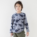 Go Gently Baby Organic Navy Ponies Print Tee - <b>Sold Out</B>