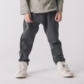 Go Gently Baby Boys Organic Raw Seam Track Pant in Charcoal