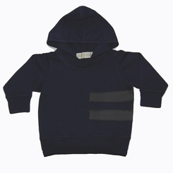 Go Gently Baby Organic Rider Hoodie in Navy