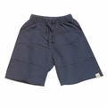 Go Gently Baby Organic Rounded Roo Shorts in Midnight Blue -<b> Sizes 7Y left!</b>
