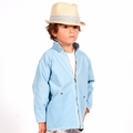 Go Gently Baby Organic Ryder Jacket in Blue Sky - <b>Last one size 5</B>