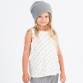 Go Gently Baby Organic Tank Top in Natural Heart