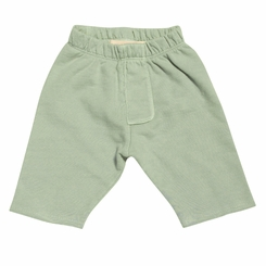 Go Gently Baby Organic Trouser Short in Sage - <B>Last one sizes 7Y & 8Y </B>