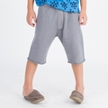 Go Gently Baby Organic Trouser Short in Slate - <B>Last one size 7T left</b>