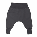 Go Gently Baby Organic Woven Harem Pant in Charcoal
