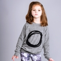 Joah Love Alfie O Sweatshirt in Heather Grey