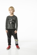 Joah Love Berkeley Cool Tee in Charcoal