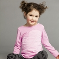 Joah Love Beti Heart Tee in Petunia - <B>Last one size 12</B>