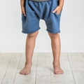 Joah Love Brenden Striped Shorts in Cove Blue - <b>last one Size 3 left</b>