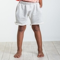 Joah Love Brenden Striped Shorts in Natural - <b>Sold Out</b>