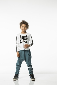 Joah Love Bruce Hero Tee in White <b>Sizes 10 left</B>
