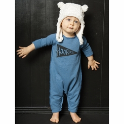 Joah Love Cozy Baby Romper in Coast - <b>Sold Out</b>