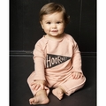 Joah Love Cozy Baby Romper in Cupcake - <b>Size 18-24M left</b>