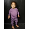 Joah Love Donovan Baby Set in Light Plum