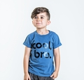 Joah Love Drew Cool Bro Tee in Cove Blue - <b>Last One Size 12Y left</b>