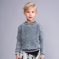 Joah Love Dustin Vintage Sweatshirt in Titanium - <b>Sold out</B>