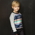 Joah Love Gordon Quilted Sweatshirt - <b>Sizes 2T left</b>