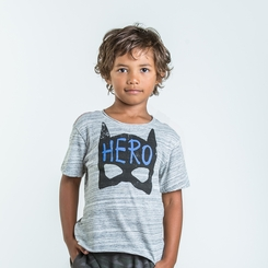 Joah Love Hawk Hero Print Tee - <b>Size 6T left</b>