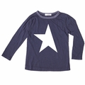 Joah Love Jett Star Unisex Tee in Navy