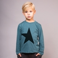Joah Love Jett Star Unisex Tee in Teal - <b>Last One size 2T </b>