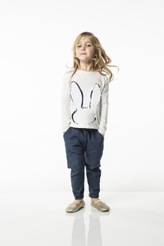 Joah Love Jody Bunny Tee in White