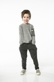 Joah Love Joss Flc Pant in Charcoal  <B>Size 3T left</B>
