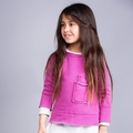 Joah Love Kasper Fleece Sweatshirt in Magenta