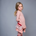 Joah Love Kira Stripe Tunic in Ribbon <B>Last ones size 2T & 4T </B>