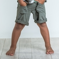 Joah Love Knox Marble Shorts in Fern - <b>Last one size 2 left</b>