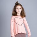 Joah Love Lara Heart Tee in Ribbon