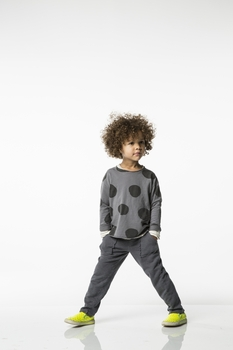 Joah Love Len Striped Pant in Platinum <B>Size 3T left</B>