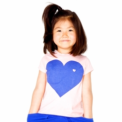 Joah Love Mabel Heart Tee in Ribbon - <b>Size 10 left</B>