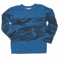 Joah Love Olie Camo Tee in slate Blue - <B>Sold Out</b>