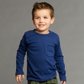 Joah Love Roger Tee in Indigo - <b> Sold Out</b>