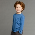 Joah Love Roger Tee in Slate Blue - <b>Sizes 2 & 8 left</b>