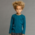 Joah Love Roger Tee in Teal - <B>Size 2T left</B>