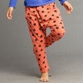 Joah Love Ryder star Pant in Orange Red - <b>12Y left</B>