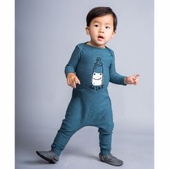 Joah Love Snuggly Aulait in Teal - <B>Last One Size3-6m</B>