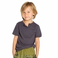 Joah Love Stanley Tee in Charcoal - <b>Last one size 10</b>