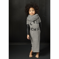 Joah Love Ursula Chic Dress in Heather Gray - <B>Last One Size 12Y left!</B>